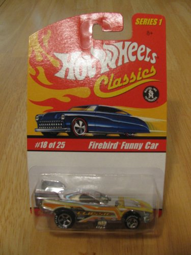 Hot Wheels Classics Series 1 - Firebird Funny Car #18 of 25 - 1