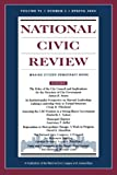 img - for National Civic Review, No. 1, Spring 2002: Issues in Local Government Structure and Performance (J-B NCR Single Issue National Civic Review) (Volume 91) book / textbook / text book