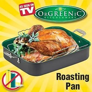 As Seen on TV OrGREENiCTM Roasting Pan by Telebrands