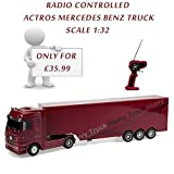 A. B. Gee Remote Control Mercedes Benz Actros Truck (Red)