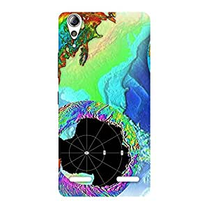 Impressive World of Colors Back Case Cover for Lenovo A6000 Plus