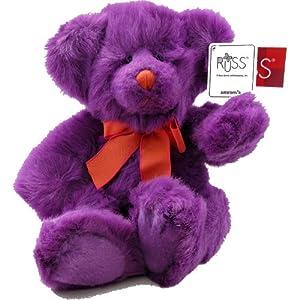 Russ Purple Teddy Bear Brew Halloween Line