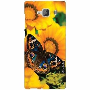 Xiaomi Redmi 2 Prime Back Cover - Silicon Butterfly Designer Cases
