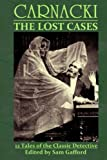 img - for CARNACKI: The Lost Cases book / textbook / text book