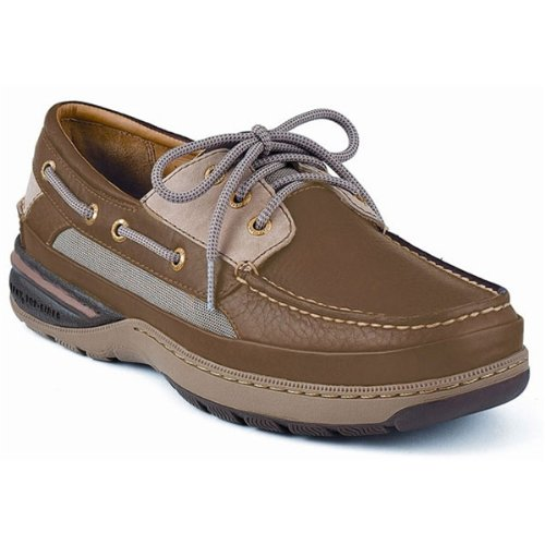 Sperry Top-Sider Men's Gold Billfish 3-Eye Boat Shoes,Tan/Beige,11 M US