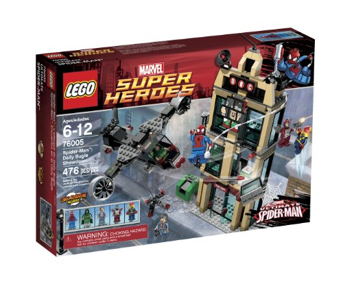 LEGO Super Heroes Daily Bugle Showdown 76005 Amazon.com