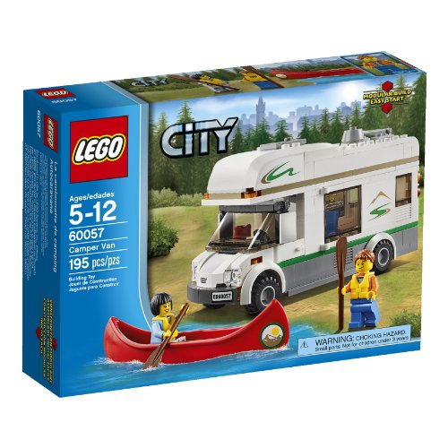 LEGO City Great Vehicles 60057 Camper Van (Discontinued by manufacturer) (Lego Truck And Camper compare prices)