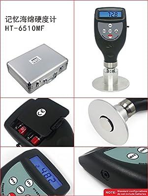 TR-HT-6510MF Digital Memory Foam Hardness Tester High Accuracy Durometer Hard Meter Firm Instrument Slow Rebound Sponge Measurement 0 ~ 100HMF