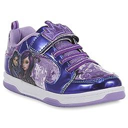 Disney Descendants: Wicked World Girl\'s Purple Sneaker (4)