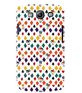 TOUCHNER (TN) Cards Symbols Back Case Cover for Samsung Galaxy S3::Samsung Galaxy S3 i9300