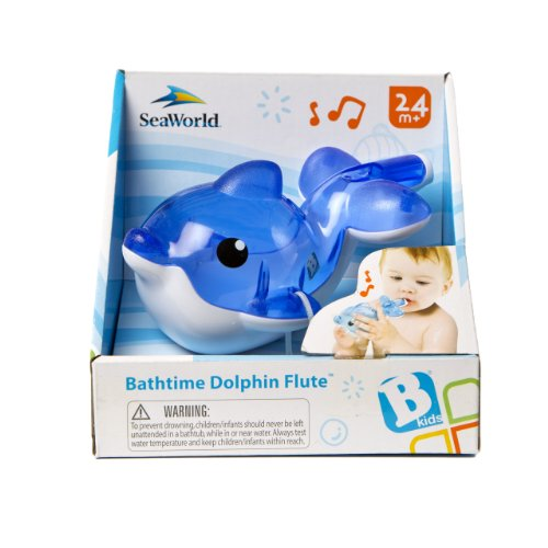 B kids Bathtime Dolphin Flute Bathtub Toy (Discontinued by Manufacturer)