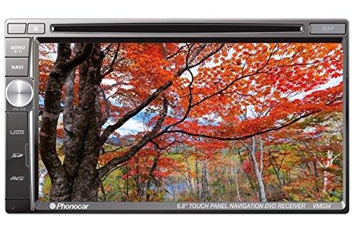 """Phonocar VM034 Media Station Led numérique 6,8"""" Antiglare Bluetooth module GPS intégré pour système de navigation"""