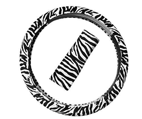 Coprisedile-effetto-peluche-zebrato-per-sedili-anteriori-colore-nero-e-bianco