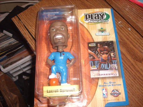 Latrell Sprewell NY Knicks Bobble Head by Upper Deck by Playmakers