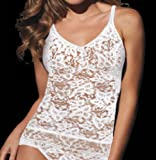 Bali Women's Lace And Smooth Camisole Top thumbnail