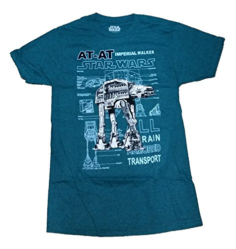 Star Wars AT-AT All Terrain Armored Transport Licensed Graphic T-Shirt