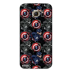 Marvel Civil War PBMARSAMS6EDGE10 Fight Back Cover for Samsung Galaxy S6 Edge (Multicolor)