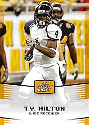 T.Y. Hilton football card (Florida International, Indianapolis Colts) 2012 Leaf Draft Gold #46 Rookie