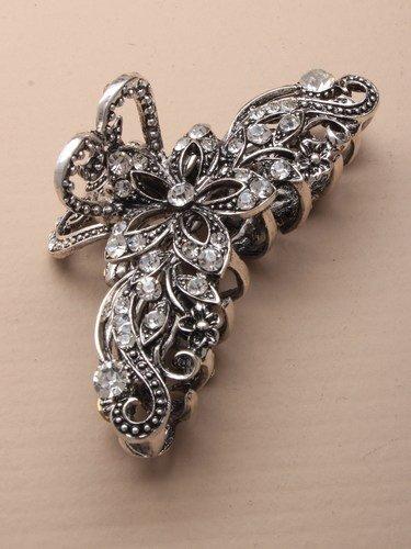 silver-vintage-crystal-metal-hair-clamp-in5263