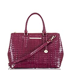 Lincoln Satchel<br>Boysenberry La Scala