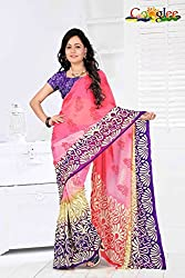 soham enterprise Multicolor Coloured 11 Fabulouse Saree