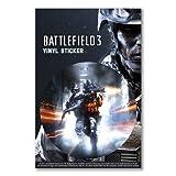 Vinyl sticker: BATTLEFIELD 3 GAME CO-OP COMBAT PC GAMING WAR SOLDIER SPECIAL FORCES (One vinyl sticker)