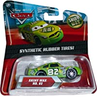 Disney Pixar Cars Exclusive SHINY WAX with Synthetic Rubber Tires