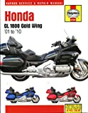 Haynes Manual for Honda GL1800 Gold Wing 1800 (01 - 10) Including an AA Microfibre Magic Mitt