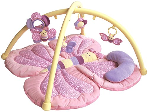 Little Bird Told Me LB3007 Billowy Butterfly Playgym Baby Toy