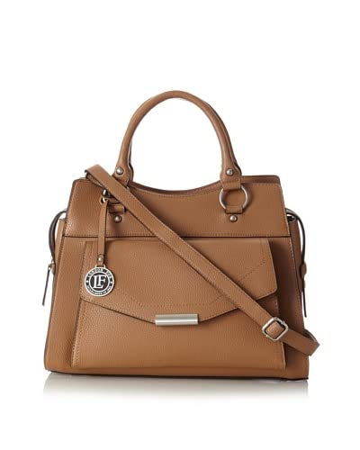London Fog Women's Andee Satchel, Camel, One Size As You See