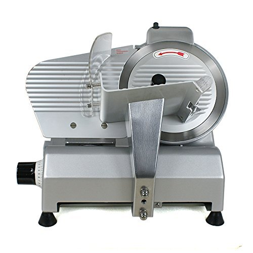 Zeny Electric Meat Slicer New Blade Commercial Deli Meat Cheese Food Slicer Premium Quality (Restaurant Slicer compare prices)