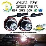 dahosun ® BMW E39 E60 E63 E83 E53 X3 X5 LED 10W エンジェルアイズ 電球イカリング エンジェルアイ キャンセラー付