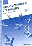 echange, troc Georges Langlois, Michèle Mollet - Analyse comptable et financière, 3e édition (Corrigés)