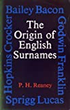 img - for Origin of English Surnames book / textbook / text book