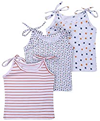 NammaBaby Cotton Tying Jhabla ,Vest Combo Pack Of 3 For New Born (0-3 Months)