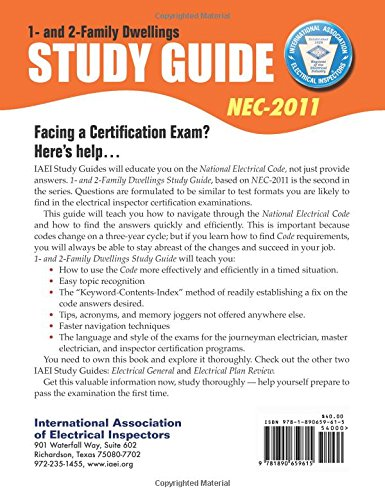 One- and Two-Family Study Guide, 2011