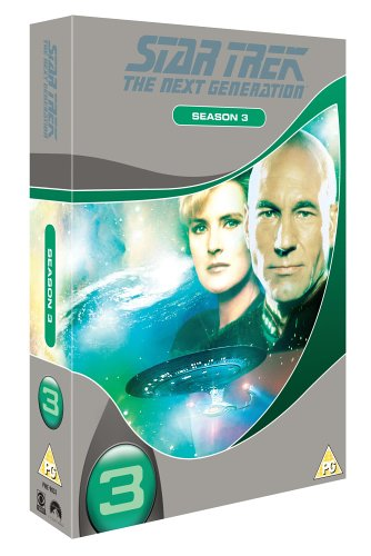 Star Trek The Next Generation - Season 3 (Slimline
