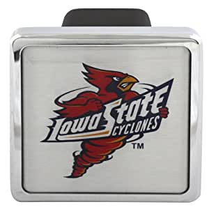 """Iowa State Cyclones Football Logo Metal Hitch Cover 2"""" Hitch Receiver"""