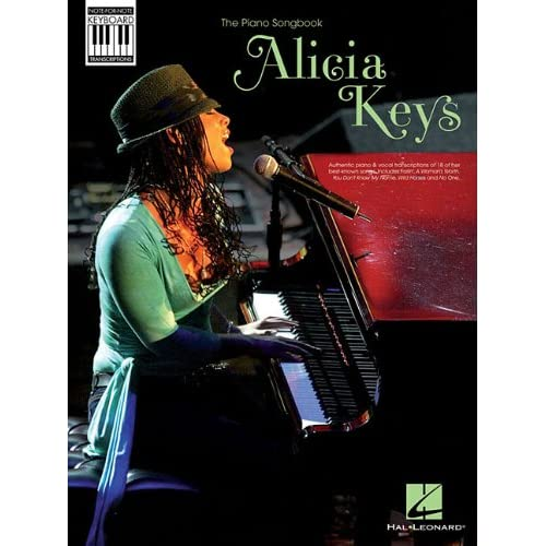Alicia Keys: Piano Songbook: (PVG) (Book/Ecd)