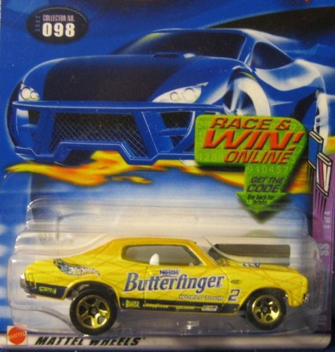 HOT WHEELS # 098 70 CHEVELLE [BUTTERFINGER]