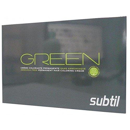 nuancier subtil green - Subtil Coloration