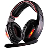 GW SADES SA902 7.1 Channel USB Surround Stereo PC Gaming Headset Headphones With Mic Revolution Volume Control...