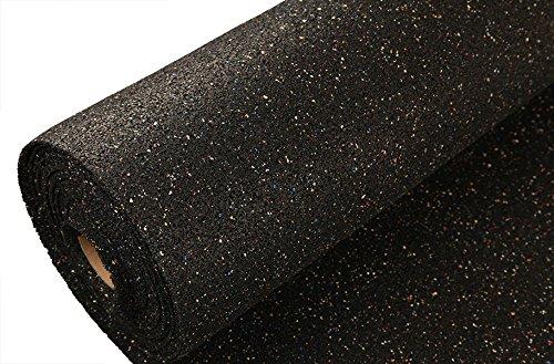 Incstores Pre Cut 100 Square Foot Rubber Underlayment