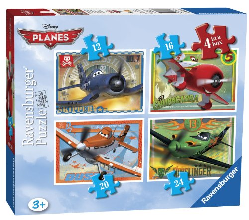 Puzzle - Disney Planes Puzzle - 4 In A Box