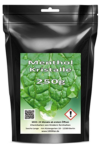 250g-Menthol-Mentholkristalle-Minze-pharmazeutische-Qualitt-fr-Saunaaufgu-025kg-Standbodenbeutel-wiederverschliebar