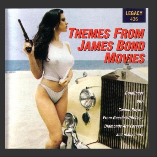 Original album cover of Themes From James Bond Movies by James Bond themes