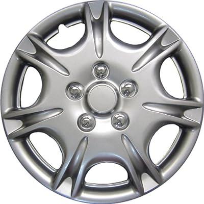 """Drive Accessories KT-1029-15S/L, Nissan Maxima, 15"""" Silver Replica Wheel Cover, (Set of 4)"""