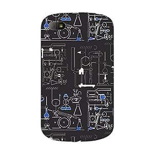 Garmor Designer Plastic Back Cover For BlackBerry Classic