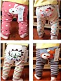 Baby - Toddler Unisex Trousers / Leggings - Milk Panda