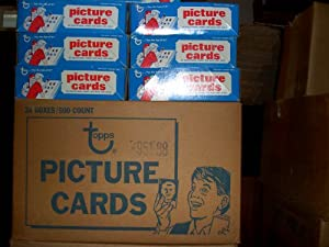 1986 1987 1988 1989 1990 1991 TOPPS Un-opened Baseball Vending boxes(3000 Cards) by Topps